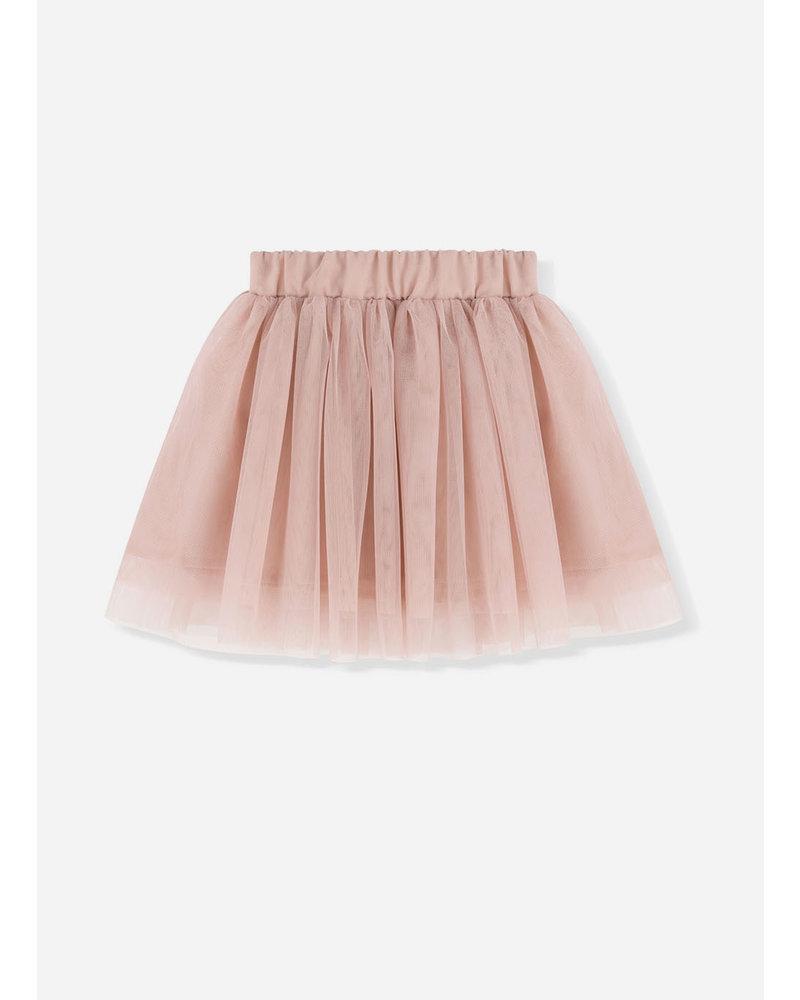 Kids on the moon rose tutu skirt