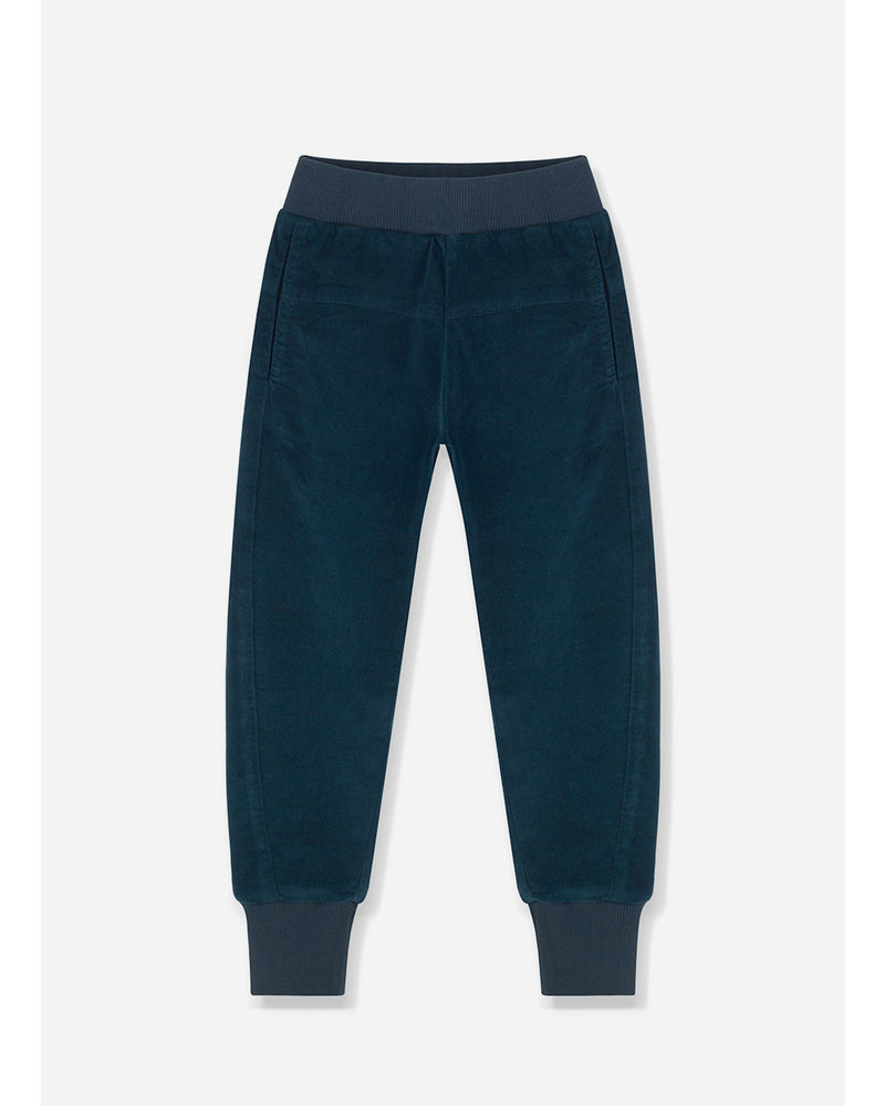 Kids on the moon blue cord joggers