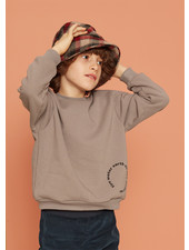 Kids on the moon steel sweatshirt
