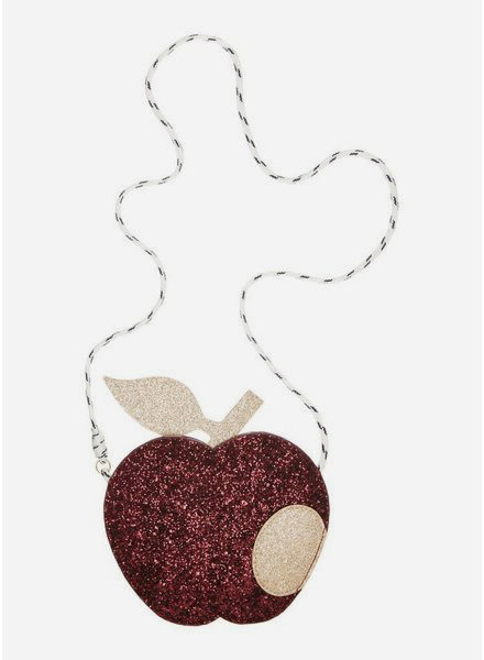 Mimi and Lula glitter apple bag