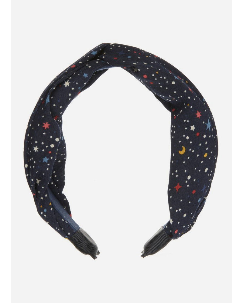 Mimi and Lula space print wide alice band