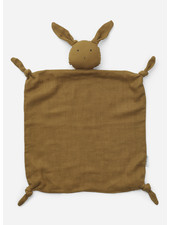 Liewood agnete cuddle cloth - rabbit olive green