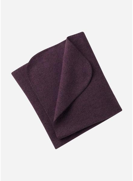 Engel Natur baby blanket - purple melange