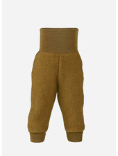 Engel Natur baby pants long with waistband - saffron melange