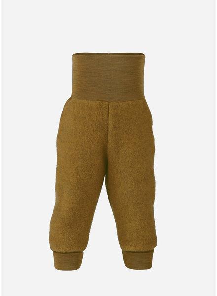 Engel Natur baby pants long with waistband - saffron melange