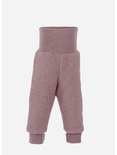 Engel Natur baby pants long with waistband - rosewood melange