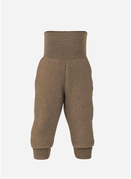 Engel Natur baby pants long with waistband - walnuss melange