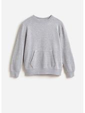 Bellerose fax sweatshirt heater grey