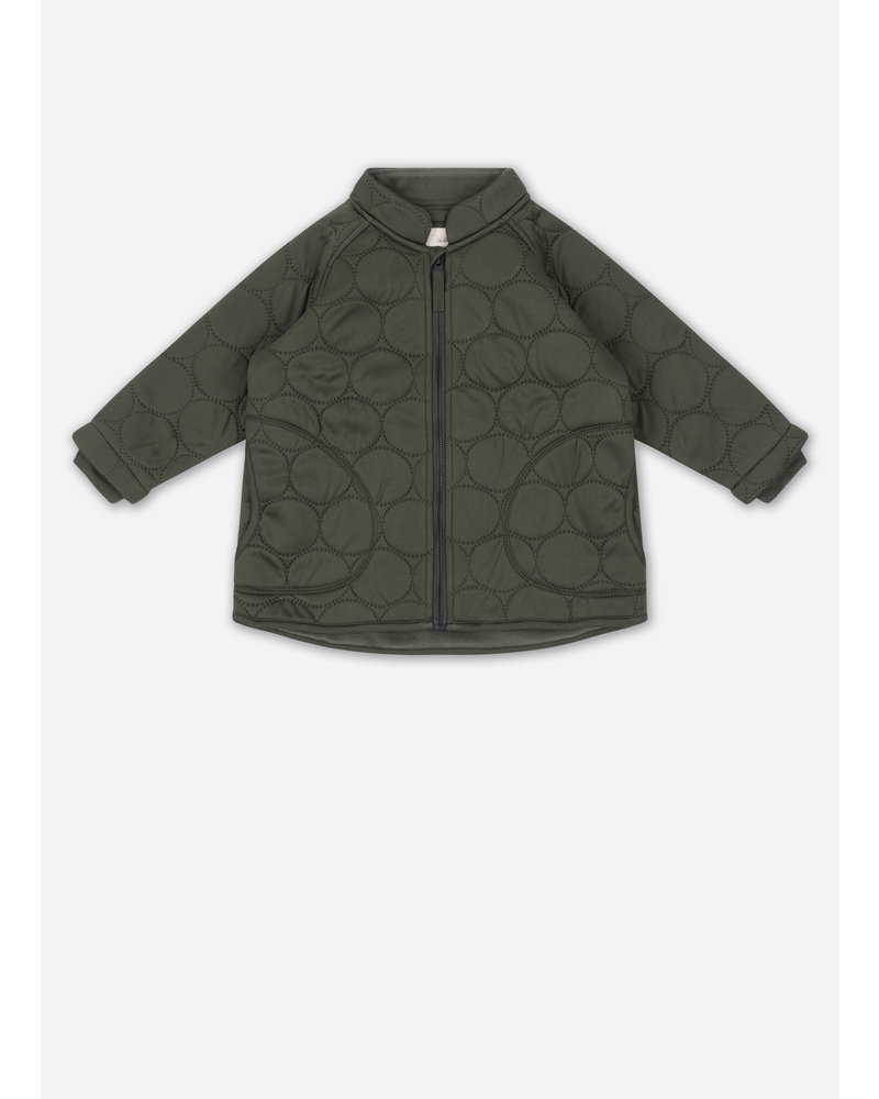 Konges Slojd thermo jacket jersey moss
