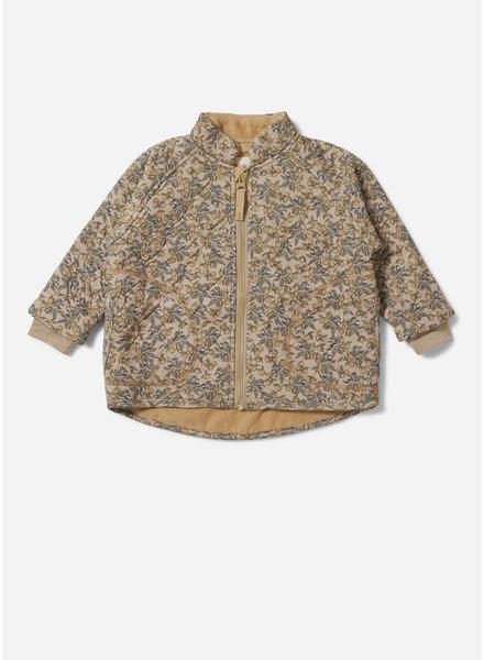Konges Slojd thermo jacket jersey orangery beige