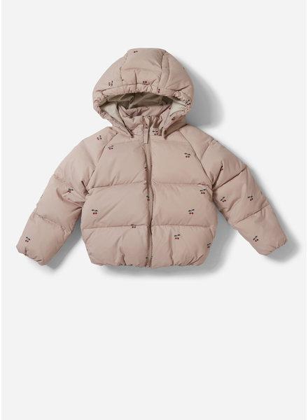 Konges Slojd down jacket cherry blush