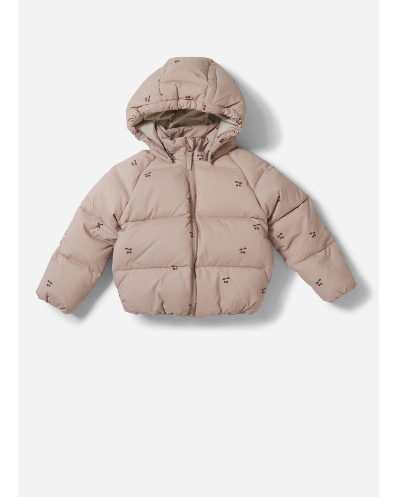 Konges Slojd down jacket cherry blush