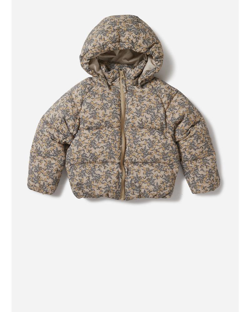 Konges Slojd down jacket orangery beige