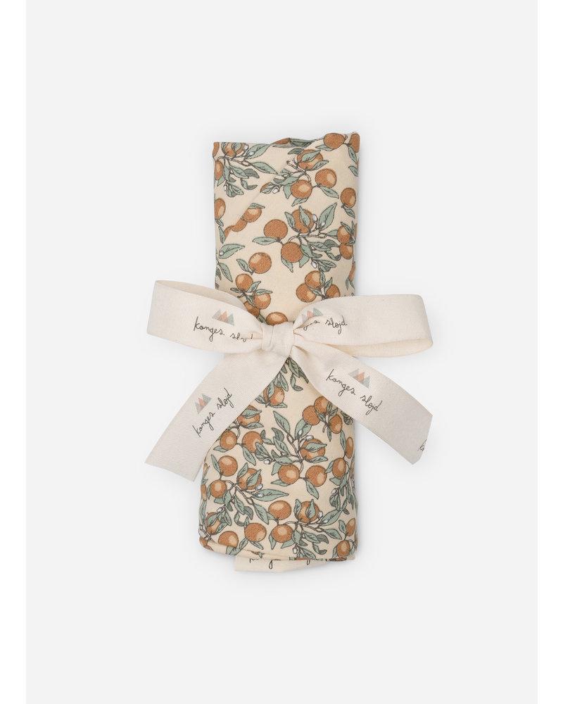 Konges Slojd nursery pillow cover orangery beige