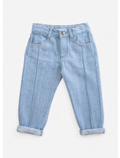 Play Up recycled denim trousers - D001 - PA03 - 3AH11609