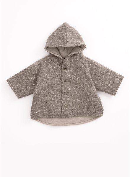 Play Up recycled jersey coat - jeronimo - P8061 - PA01 - 1AH11402