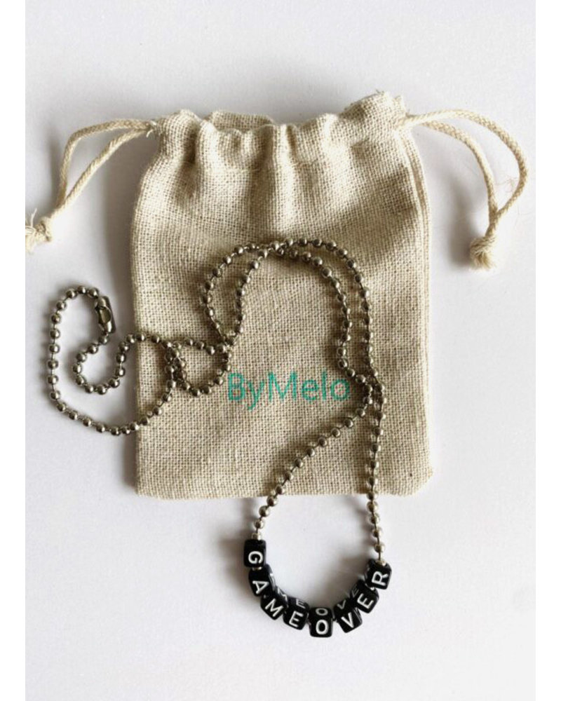 ByMelo gameover ketting