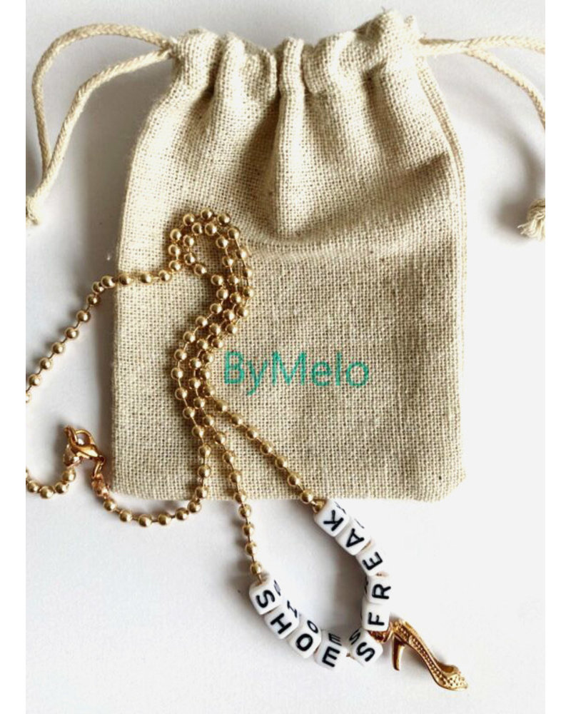 ByMelo shoes freak ketting