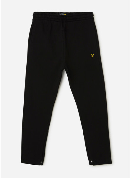 Lyle & Scott zip skinny bb jogger black