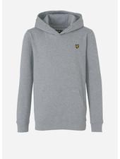 Lyle & Scott classic oth hoody fleece vintage heather grey