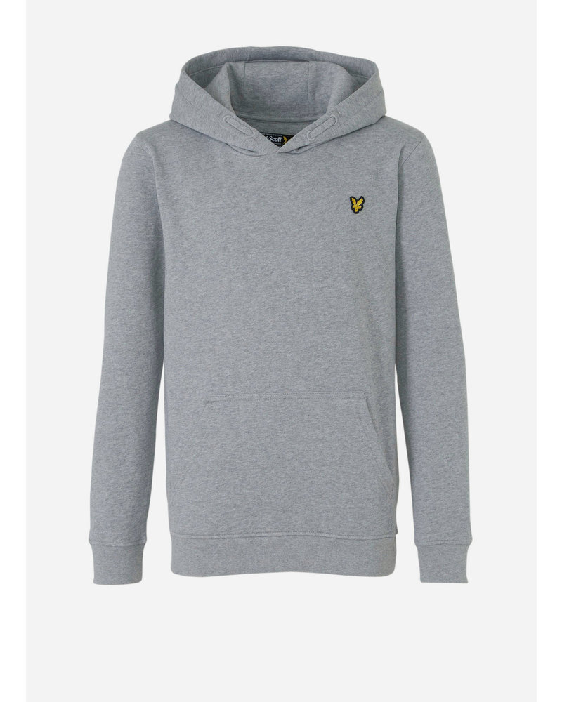 Lyle & Scott classic oth hoody fleece vintage heather grey
