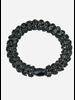 Kknekki by Bon Dep lace black glitter
