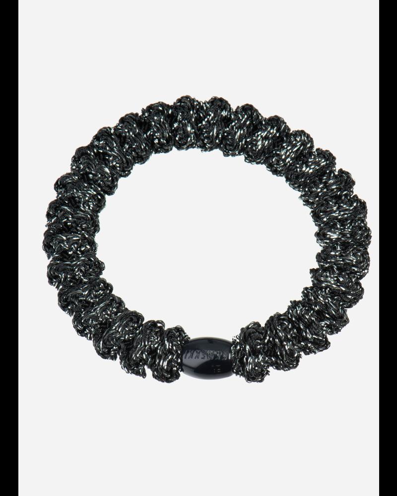 Kknekki by Bon Dep lace dark grey glitter
