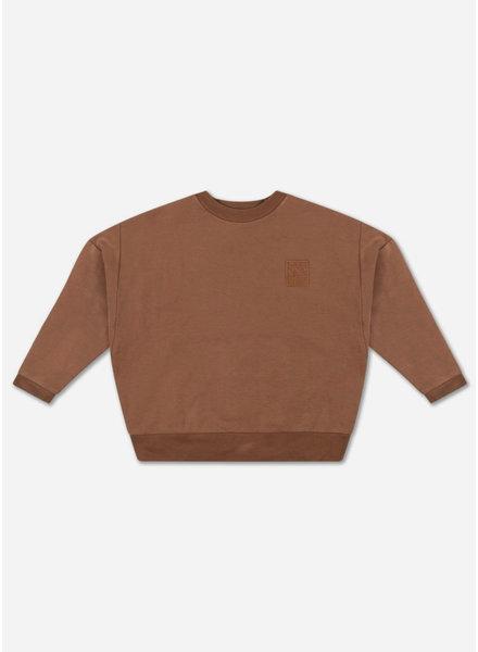 Repose q3q4 crewneck sweater - chocolate brown