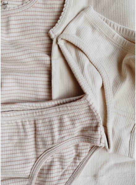 Konges Slojd saya 2 pack underpants - rose blush beige