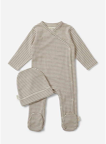 Konges Slojd dio new born set - mocha beige