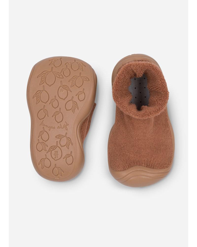 Konges Slojd sock slippers - almond