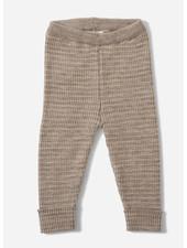 Konges Slojd meo pants - paloma brown creamy white