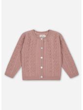 Konges Slojd silya cardigan - rose blush