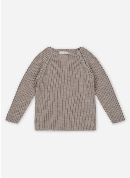 Konges Slojd toma knit blouse - paloma brown