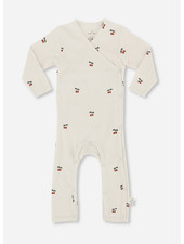 Konges Slojd new born onsie  - cherry