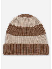 Konges Slojd witum knit beanie - almond creamy white