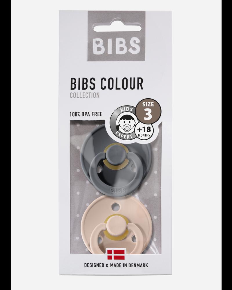 Bibs *T3 fopspeen natuurrubber iron - blush