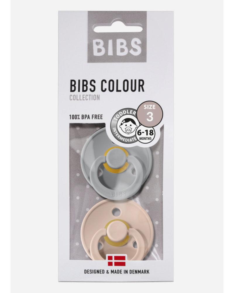 Bibs *T3 fopspeen natuurrubber cloud - blush