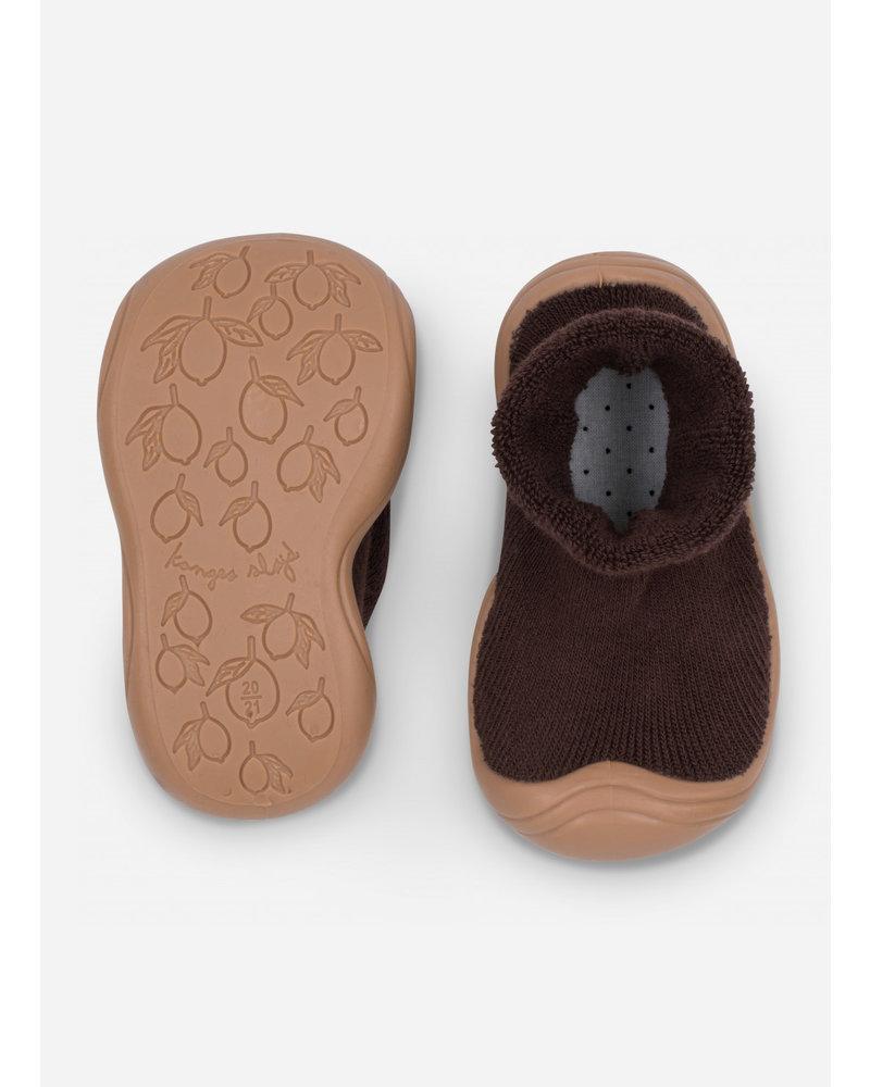 Konges Slojd sock slippers - mocca