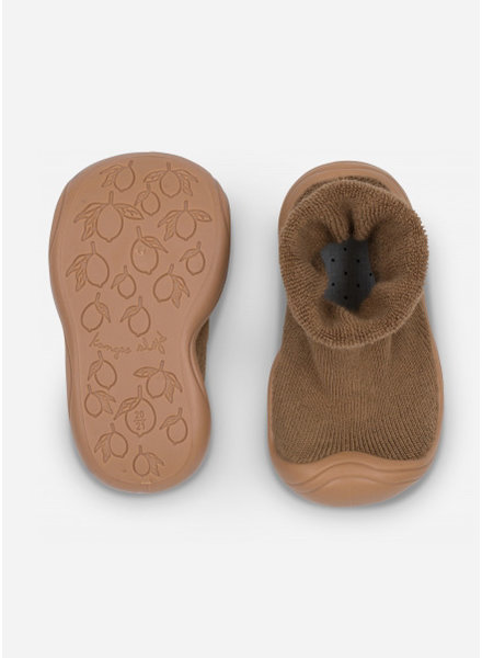 Konges Slojd sock slippers - walnut