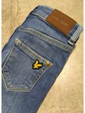 Lyle & Scott skinny fit classic jean medium wash