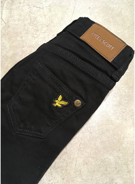 Lyle & Scott skinny fit classic jean black wash