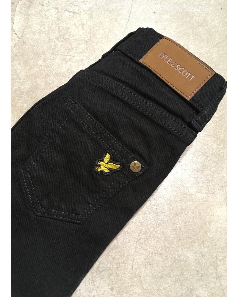 Lyle & Scott skinny fit classic jean black wash