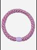 Kknekki by Bon Dep pink silver glitter