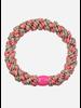 Kknekki by Bon Dep mix rasberry taupe glitter