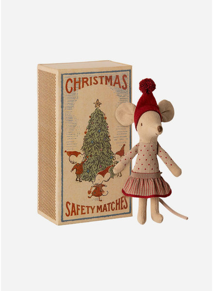 Maileg christmas mouse in box - big sister mouse