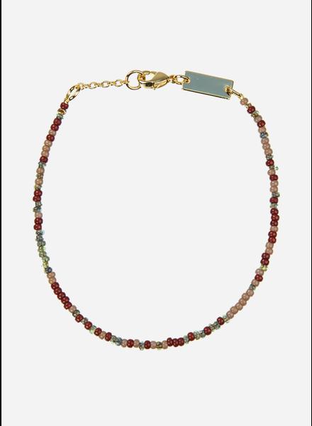 Bon Dep emilia pearl bracelet dark multi