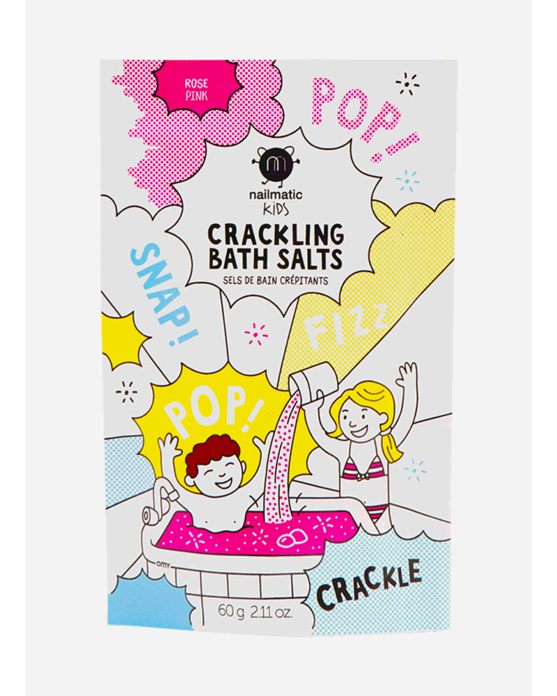 Nailmatic pink crackling bath salts