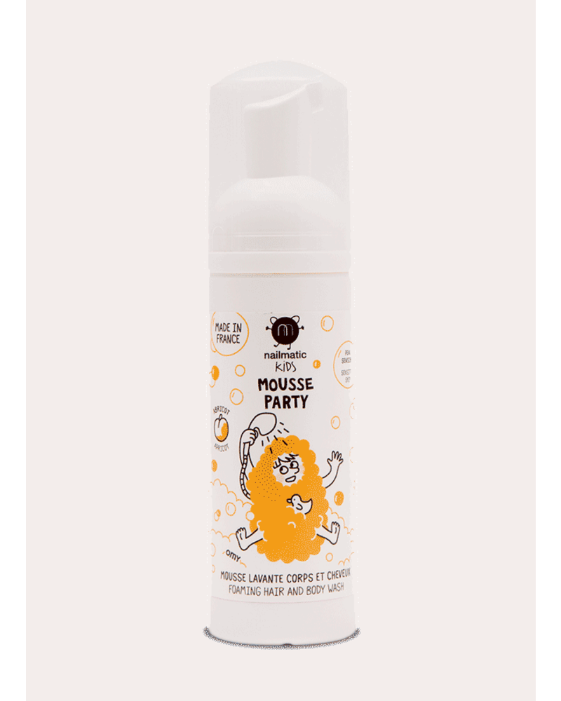 Nailmatic hair and body foam mousse party - apricot