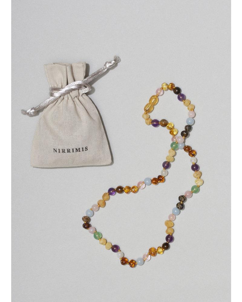 NIRRIMIS necklace rainbow